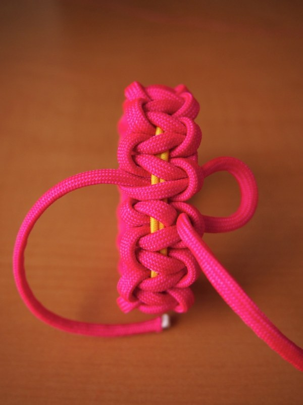 Paracord bracelet instructions 3 colors