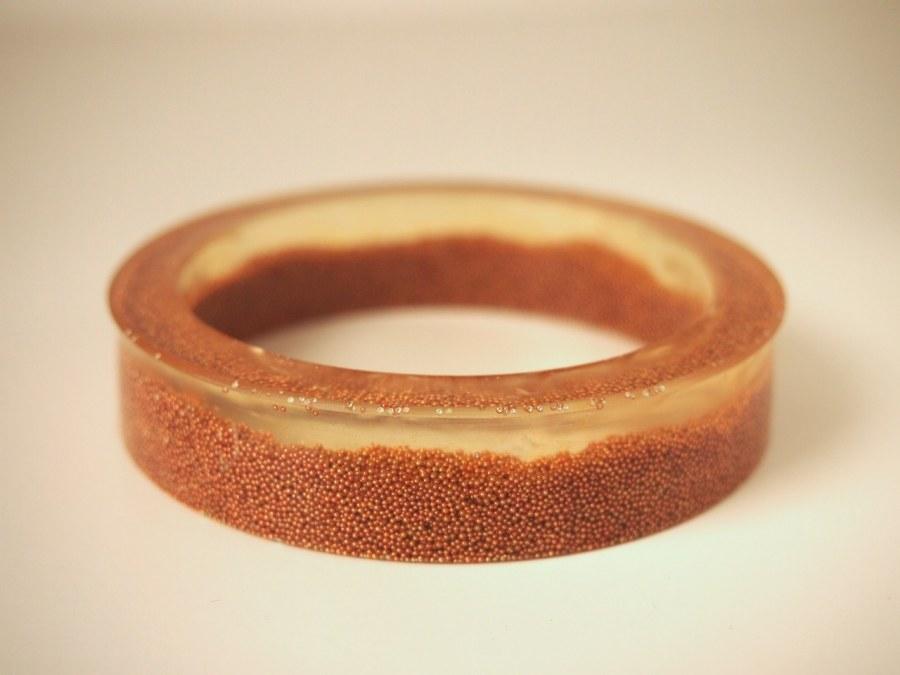 micro bead resin bangle tip on reshaping your molds
