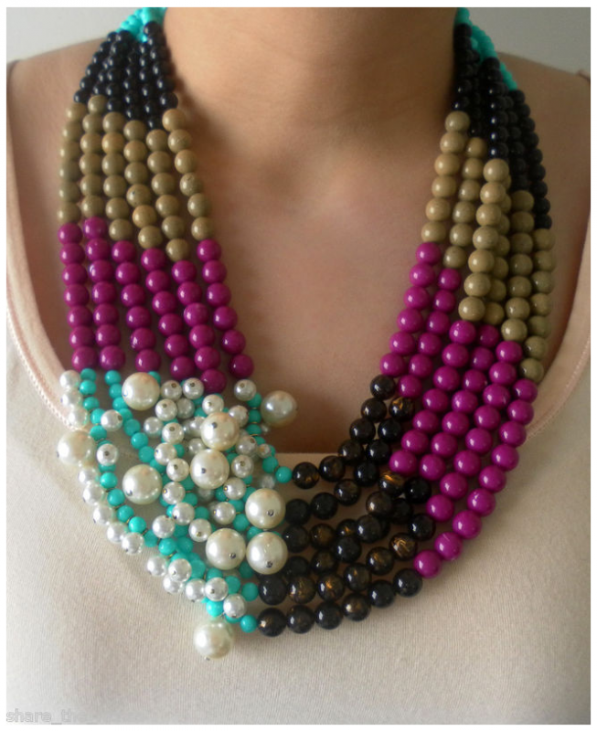 alley set multi strand multistrand pearls earrings freshwater cat products and necklace